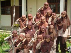 Cahaya Jilbab di SMA Negeri 2 Ngawi
